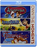 Anastasia / Ferngully / Thumbellina Triple Feature Blu-ray