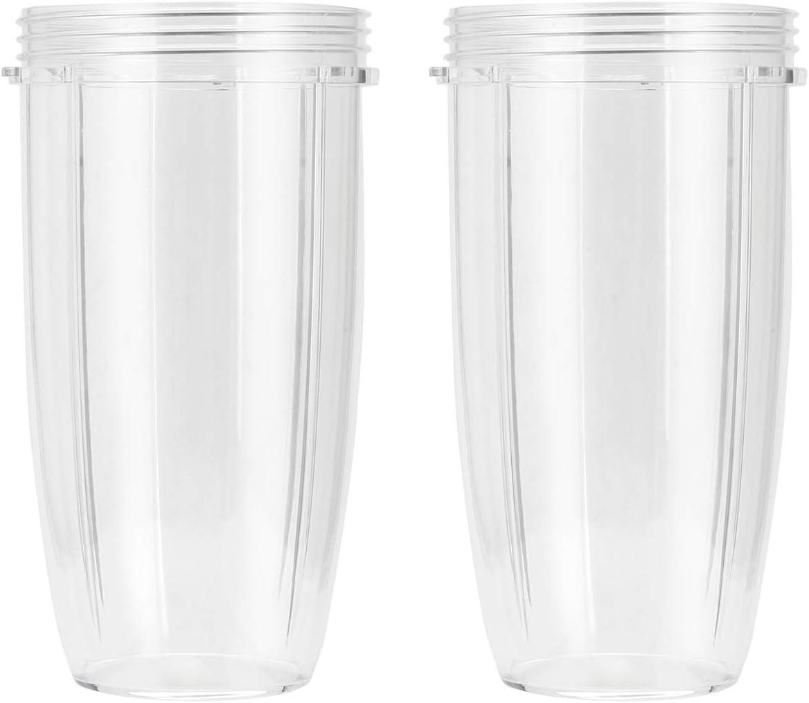 vaso de 900 ml de reemplazo Nutribullet 600W and 900W pack 2