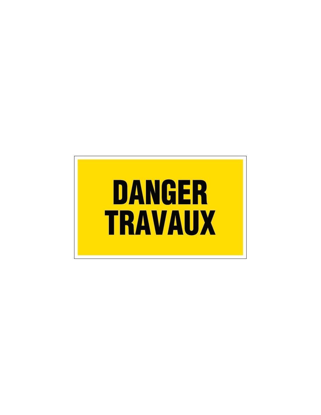 Panneaux de signalisation rectangulaires Outibat - Danger travaux