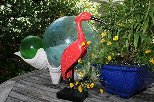 - TikiMaster HERON BIRD - RUSTIC RED COASTAL 14