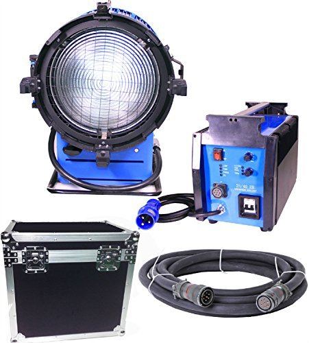 Kinosun PRO 4000W DayLight Compact HMI Fresnel Light + 120V 2.5 4K Ballast Flicker-free - Hmi Fresnel Light