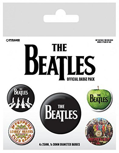 Beatles X insignias mm 38 10 25 Be 15 mm y Paquete cm 4 1 de de los It Let xPnzIgq