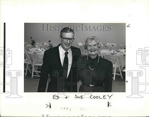1991 Press Photo Ed & Sue Cooley, anniversary celebration - ora08990