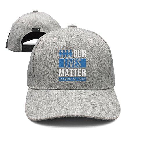 Unisex Our Lives Matter Best Snapback Hat Summer Cap
