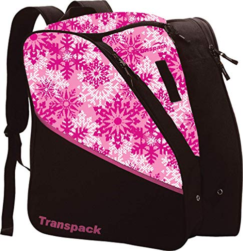 Edge Junior Ski Boots - Transpack Edge Junior Ski Boot Bag 2019 - Pink Snowflake