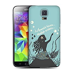 Hu Xiao Head case cover Designs Mermaid Mythical Paradise Replacement ZpC7weE5VC1 Battery Back Cover for Samsung Galaxy S5 BY supermalls