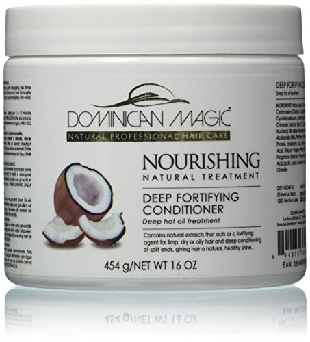 Dominican Magic Deep Fortifying Conditioner, 16 Ounce (Best Dominican Deep Conditioner)