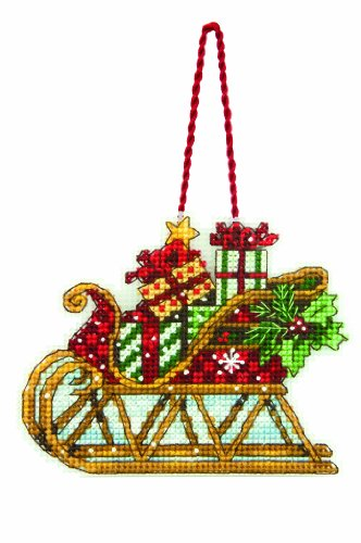 Dimensions Counted Cross Stitch Ornament, Sleigh (70-08914)