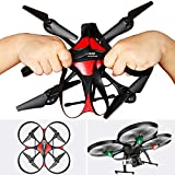 DROCON Transformable Cool Big Size Drone for Beginners with 720P...