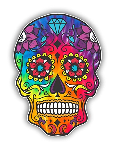 Top 10 recommendation sugar skull stickers for glass for 2020