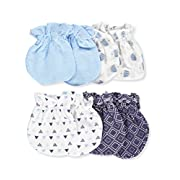 Cribmates 4 PAck Scratch Mittens for Boy