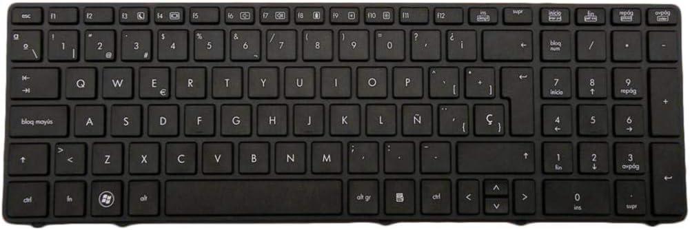 Gazechimp Laptop España Teclado De Repuesto para HP EliteBook 8560p 8570P 8560B: Amazon.es: Electrónica