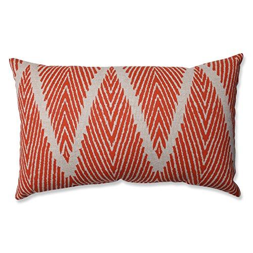 Pillow Perfect Bali Mandarin Rectangular Throw Pillow (Bali Furniture)