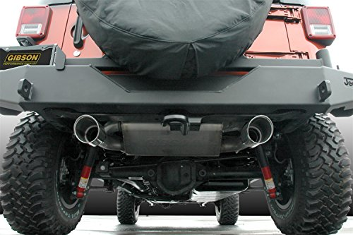Gibson Performance Exhaust Gibson 17303 Cat-Back Dual Split Exhaust System, Aluminized