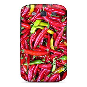 AshleySimms Samsung Galaxy S3 Shock Absorbent Hard Phone Cases Customized Nice Red Hot Chili Peppers Pictures [lOq2674vIcw]