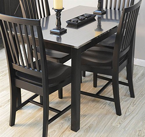 Dining Table in Black (Carolina Cottage Black Dining Table)