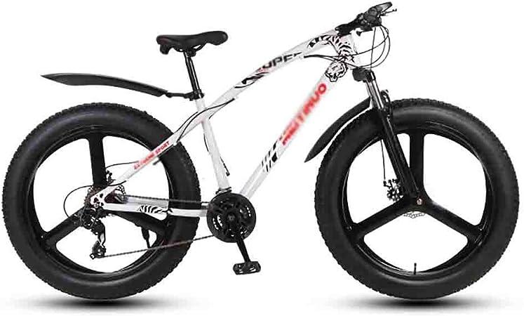 TOOLS Mountain Bike Bicicleta para Joven Bicicletas Bicicleta MTB Mountain Bike Adulto Agua Motos de Nieve Bicicletas for Hombres y Mujeres de 26 Pulgadas Ruedas Doble Freno de Disco: Amazon.es: Hogar