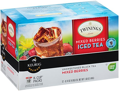Twinings Mixed Berries Iced Tea, Keurig K-Cups, 12 Count (K Cups Iced Coffee compare prices)