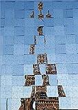 Media Storehouse 252 Piece Puzzle of Saint Laurent Show at Paris Fashion Week (19581036)