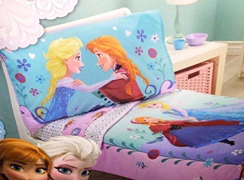 Disney- Frozen 4 Piece Toddler Bedding Set by Disney