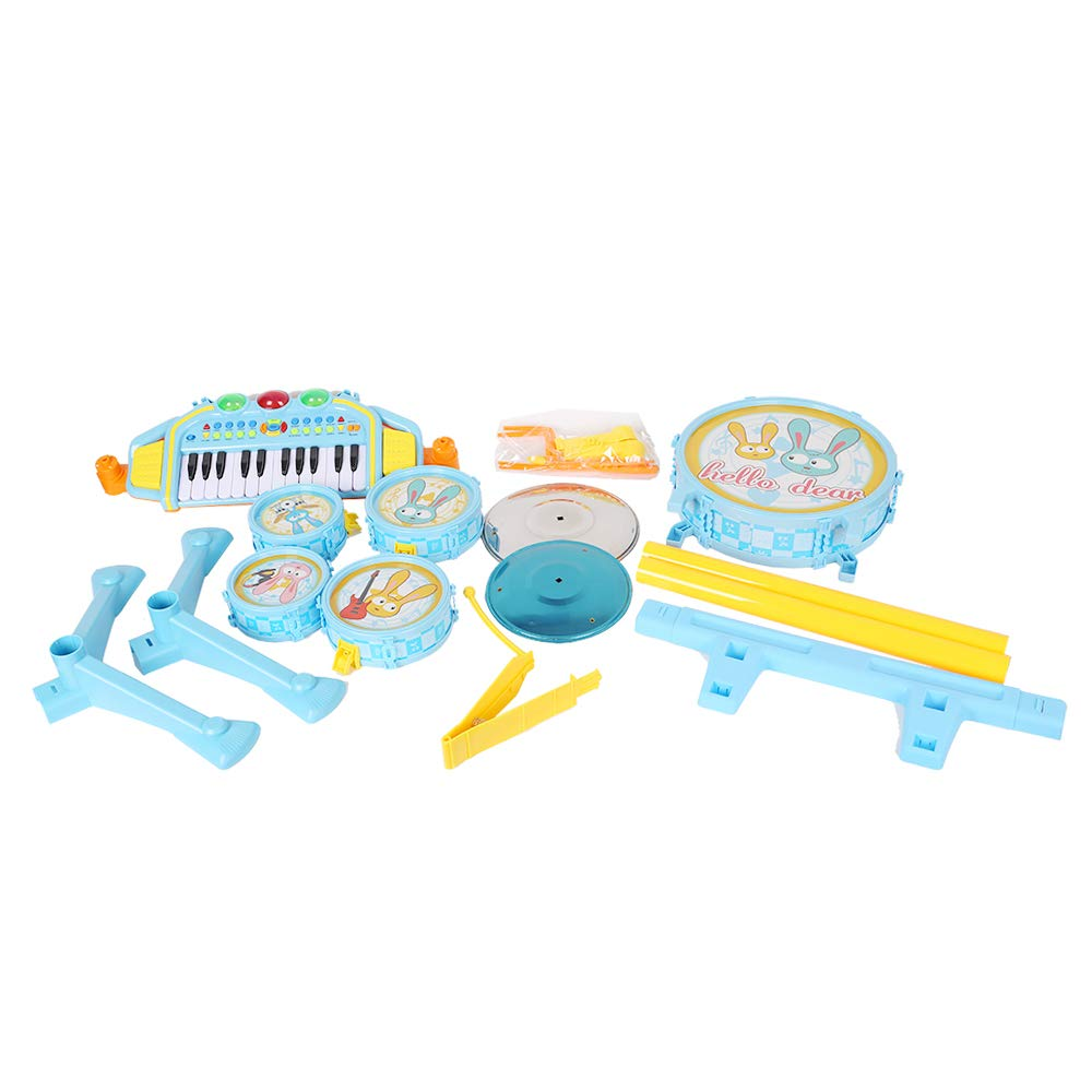 COLORTREE Educational Development Music Toy Electric Beats Jazz Drum and Piano by COLORTREE (Image #6)