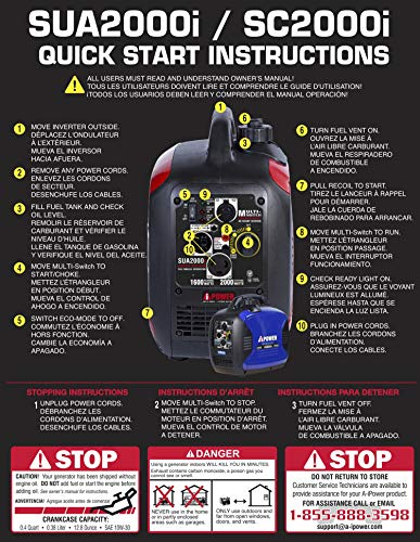 A-iPower Super 2000-Watt Inverter CARB/EPA, Ready