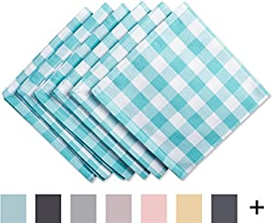 DII 100% Cotton Machine Washable Dinner Summer/Picnic Tablecloth