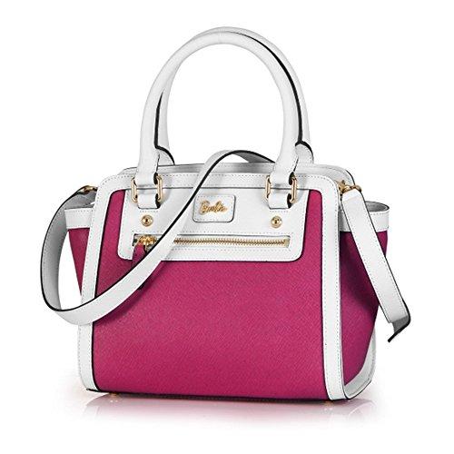 la de Simple Bandoulière à Fashion rose couleur Filles Epaule Shopping de BBFB085 et en cuir pour Barbie Sac pure blanc Main à Porté Mode Elégant PU Classique Femmes série Cool wqPzxc0YI
