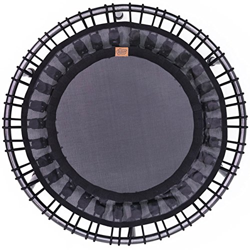 SkyBound Nimbus Bungee Fitness Rebounder Trampoline - Excellent In-Home Workout, Helps Prevent Wear and Tear on Joints (Choose Folding or Handlebar Options)