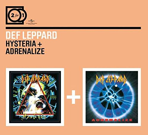 CD : Def Leppard - Hysteria/ Adrenalize (Holland - Import, 2 Disc)