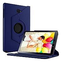"""Capa Giratória Tablet Samsung Galaxy Tab A 10.1"""" SM-P585/P580 + Película de Vidro - Azul Escuro"""