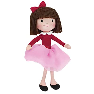 MerryMakers Lola Dutch Plush Doll, 12-Inch: Wright, Kenneth, Wright, Sarah Jane: Toys & Games