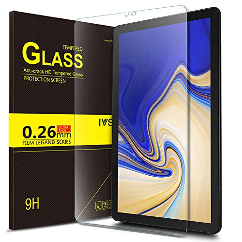Bosewek Samsung Galaxy Tab S4 10.5 Tempered Glass Screen Protector HD Screen Protector for Galaxy Tab S4 10.5 SM-T830 (Wi-Fi) & SM-T835 (4G LTE) Tablet (1pcs)