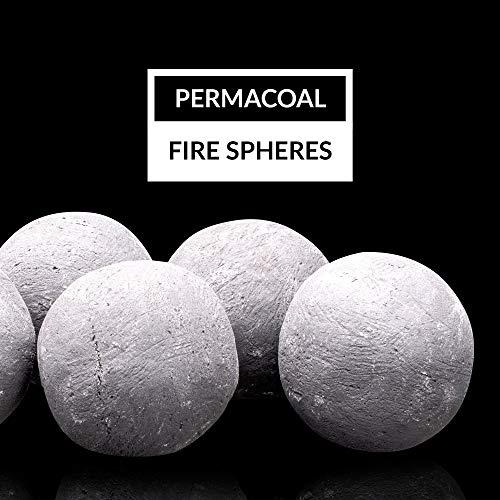 Bond Manufacturing 50849 3-inch Firebowl Spheres, 3