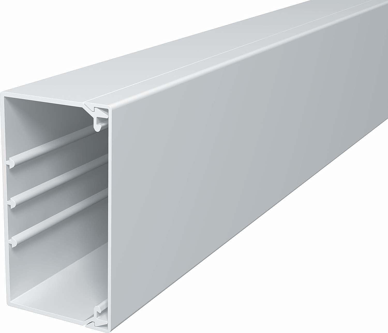 OBO Bettermann WDK60110RW WDK-Kabelkanal PVC reinweiß 60x110x2000mm ...