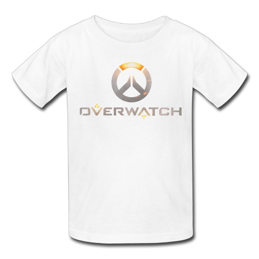 LesGo-Tshirt Kid's Overwatch OW Logo Short Sleeve T-Shirt