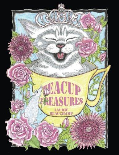 Teacup Treasures: Cuties to color