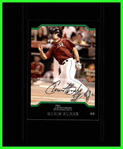 Chris Burke Baseball (2004 Bowman Draft #157 Chris Burke HOUSTON ASTROS)