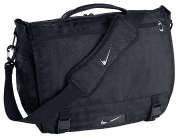 3187fd8b1f970 Nike Departure Messenger Tasche Laptop Tasche – Schwarz  Amazon.de ...