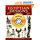 Egyptian Designs CD-ROM and Book (Dover Electronic Clip Art)