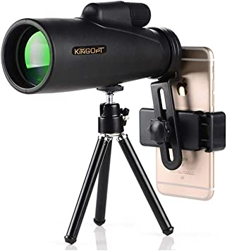 GYYlucky 12x50mm Telescopio monocular for Smartphone 50MM Lente ...