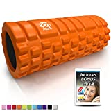 Cheap 321 STRONG Foam Roller – Medium Density Deep Tissue Massager for Muscle Massage and Myofascial Trigger Point Release, with 4K eBook – Orange
