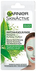 GARNIER Rescue Face Mask, Matcha, 8 milliliters