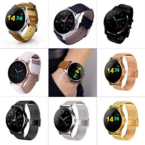 Amazon.com: GEZICHTA Bluetooth Smartwatch, K88H Touch Screen ...