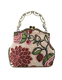 Smartstar Fashion Women Vintage Clutches Purse Evening Handbag Shoulder Hand Bag - Pink
