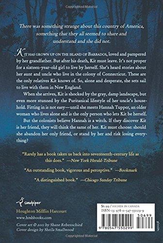 The Witch of Blackbird Pond: Elizabeth George Speare ...