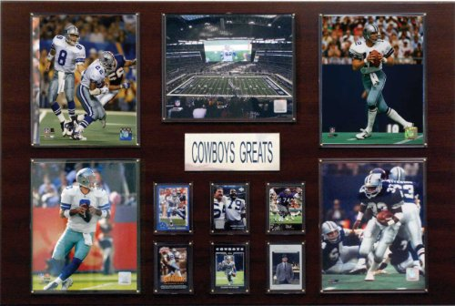 (NFL Dallas Cowboys Greatest Star Plaque)