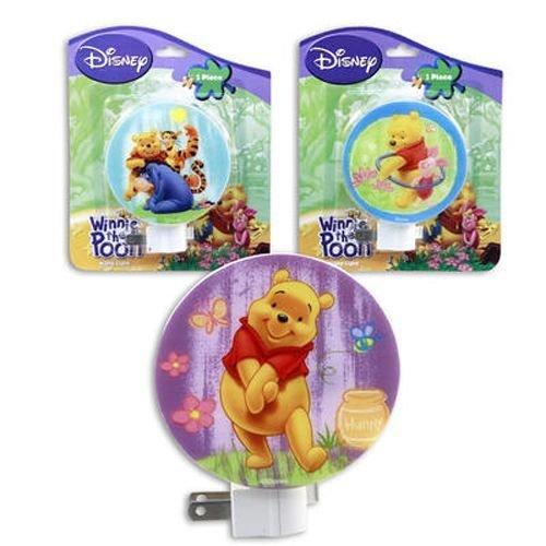 Winnie Pooh Night Light Designs
