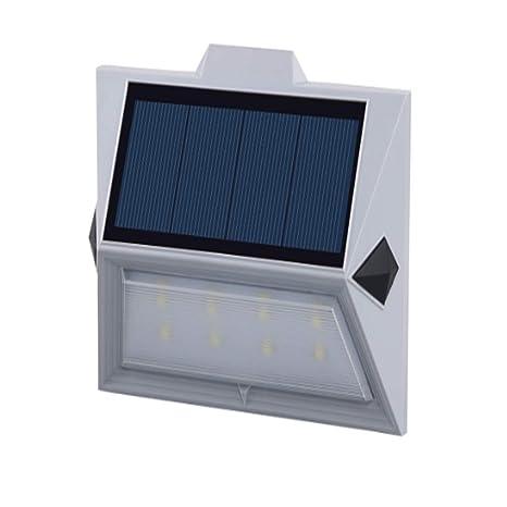 Garden etc Corridor LED Waterproof Solar Wall Lamps for Yard Exterior Walls