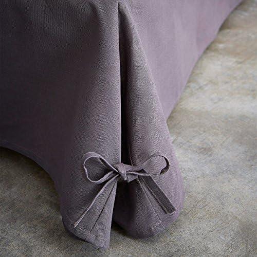 Today 576334 Cache - Funda de somier, algodón/tela tejida/polipropileno, algodón, Canon de Fusil, 160 x 200 cm